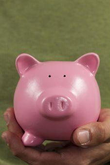 Free Piggy Bank Royalty Free Stock Photos - 18128058