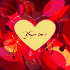 Free Abstract  Valentine Background Stock Image - 18128581