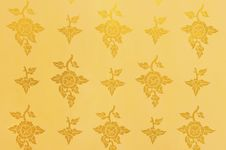 Free Golden Flower Background, Texture Stock Photography - 18128822