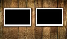 Free Frame On Wood Stock Image - 18129431
