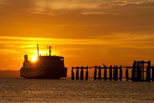 Free Ferry Boat To Samui Royalty Free Stock Photos - 18129888