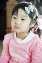 Free Chinese Little Girl Watching TV Royalty Free Stock Photos - 18138618