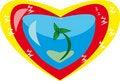 Free World Heart Stock Photo - 18138750
