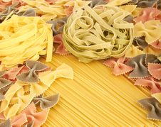 Free Italian Pasta Collection Royalty Free Stock Photography - 18130287