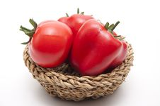 Free Tomato And Red Paprikas Royalty Free Stock Images - 18130999