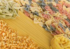 Free Italian Pasta Collection Royalty Free Stock Photo - 18131105