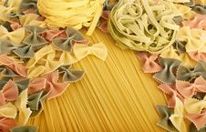 Free Italian Pasta Collection Stock Photos - 18131133