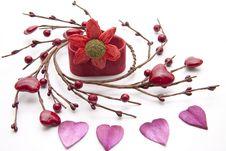 Heart Blossoms Stock Photos