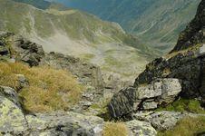Fagaras Mountains, Carpathians, Romania Royalty Free Stock Images