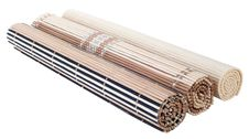 Free Rolled Up Bamboo Mat Royalty Free Stock Photos - 18131758