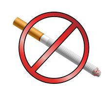 Free No Smoking Sign Royalty Free Stock Photo - 18131985