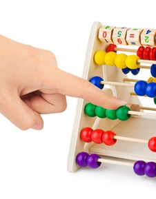 Free Hand And Abacus Stock Photos - 18132123