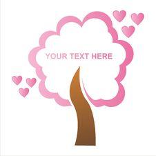 Free St. Valentine S Day Tree Frame Stock Photos - 18132323