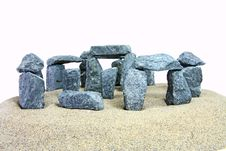 Free Stonehenge Look-alike Stock Photography - 18132432