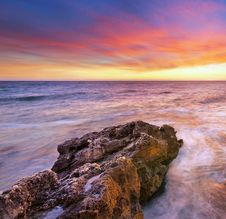 Free Beautiful Seascape Royalty Free Stock Images - 18132489
