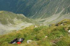 Fagaras Mountains, Carpathians, Romania Stock Photos