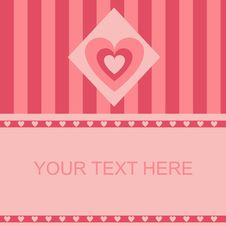 Free Cute Hearts Frame Stock Images - 18132904