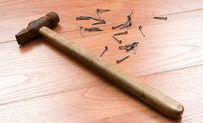 Hammer And Nails Stock Photos