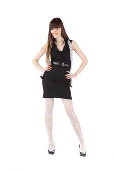 Free Beautiful Woman In Black Royalty Free Stock Image - 18133136