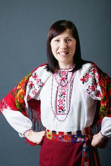 Free Ukrainian Woman Stock Photography - 18138212