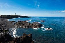 Lighthouse La Palma Royalty Free Stock Photos