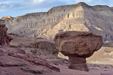 Free Geological Formations In Timna Park, Israel Stock Photography - 18138302