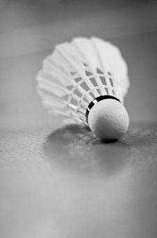 Free Indoor Badminton Shuttlecock Racquet Ball Game Stock Images - 18138504