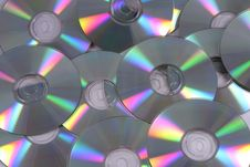 Blank CDs Royalty Free Stock Images