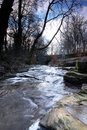 Free A Winter Stream Stock Images - 18140384
