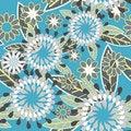 Free Beautiful Floral Texture Stock Photos - 18141053