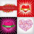 Free Valentines Day Card. Vector Royalty Free Stock Images - 18142819