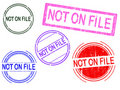 Free 5 Grunge Stamps - Not On FILE Stock Photos - 18143043