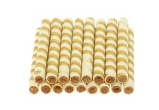 Wafer Rolls Royalty Free Stock Photography