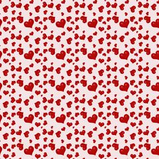 Free Seamless Background Red Valentine S Day Stock Photo - 18140460