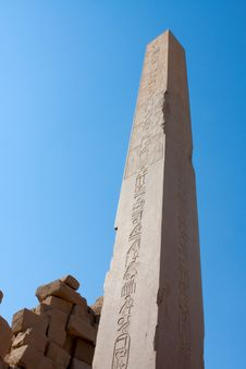 Free Karnak Temple Obelisk Stock Photos - 18140463