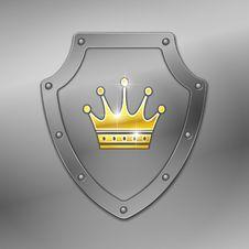 Free Shield. Vector. Royalty Free Stock Photos - 18140598