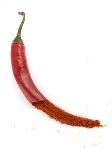 Free Red Chili Peppers Stock Photo - 18140660