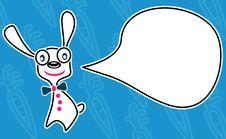 Free White Rabbit Royalty Free Stock Image - 18141046