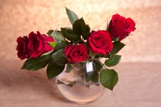Free Red Roses Royalty Free Stock Image - 18141136