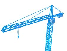 Free 3D Render Of Crane Stock Photos - 18141793