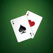 Free Poker Aces Stock Photos - 18142163
