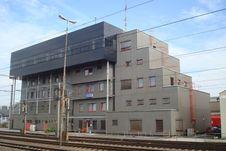 Free Modern Railway Station Stock Photo - 18142530