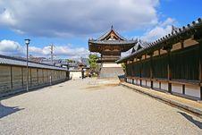 Free Hōryū-ji Temple Royalty Free Stock Photos - 18142908