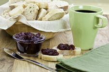 Free Bread And Jam Stock Photos - 18143123