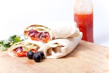 Free Tortilla Stock Images - 18143934