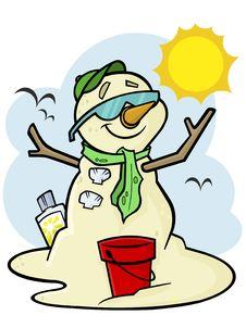 Free Summer Sandman Stock Photo - 18144810