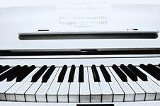 Free Piano Keys. Royalty Free Stock Photos - 18145078
