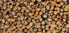Free Firewood Royalty Free Stock Photography - 18145317