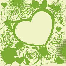Free Floral  Postcard Stock Image - 18145411