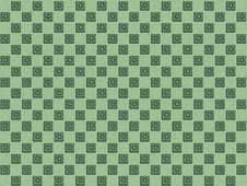 Free Checker Pattern With Carved Cubes Stock Photos - 18145623